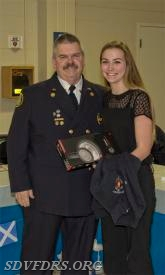 Rookie EMS Person of the Year was Georgette Savage.