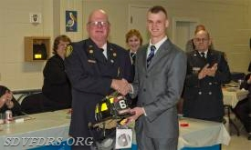 Rookie fire Person of the Year is Matt Abbott