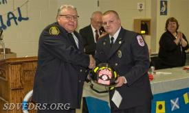 Fire Person of the Year went to Dylan Walker.